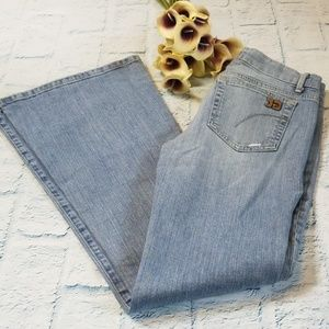 Joe's Jeans Stardust Distressed Bell Bottom Jeans